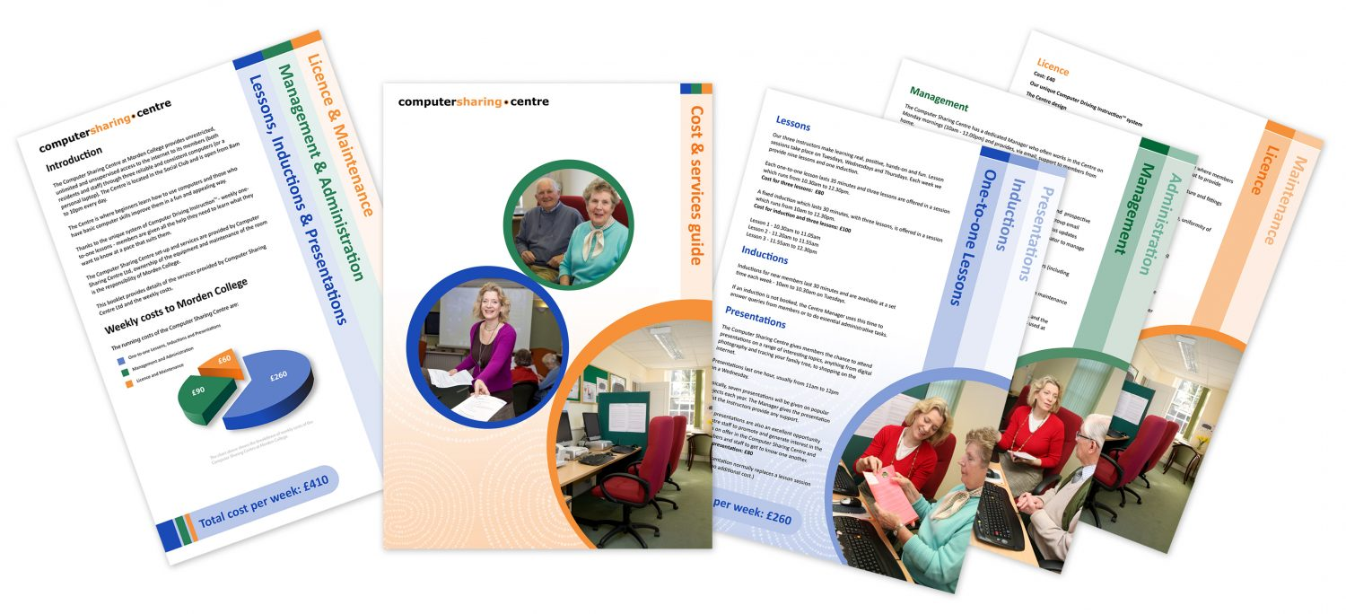Computer Sharing Centre brochure